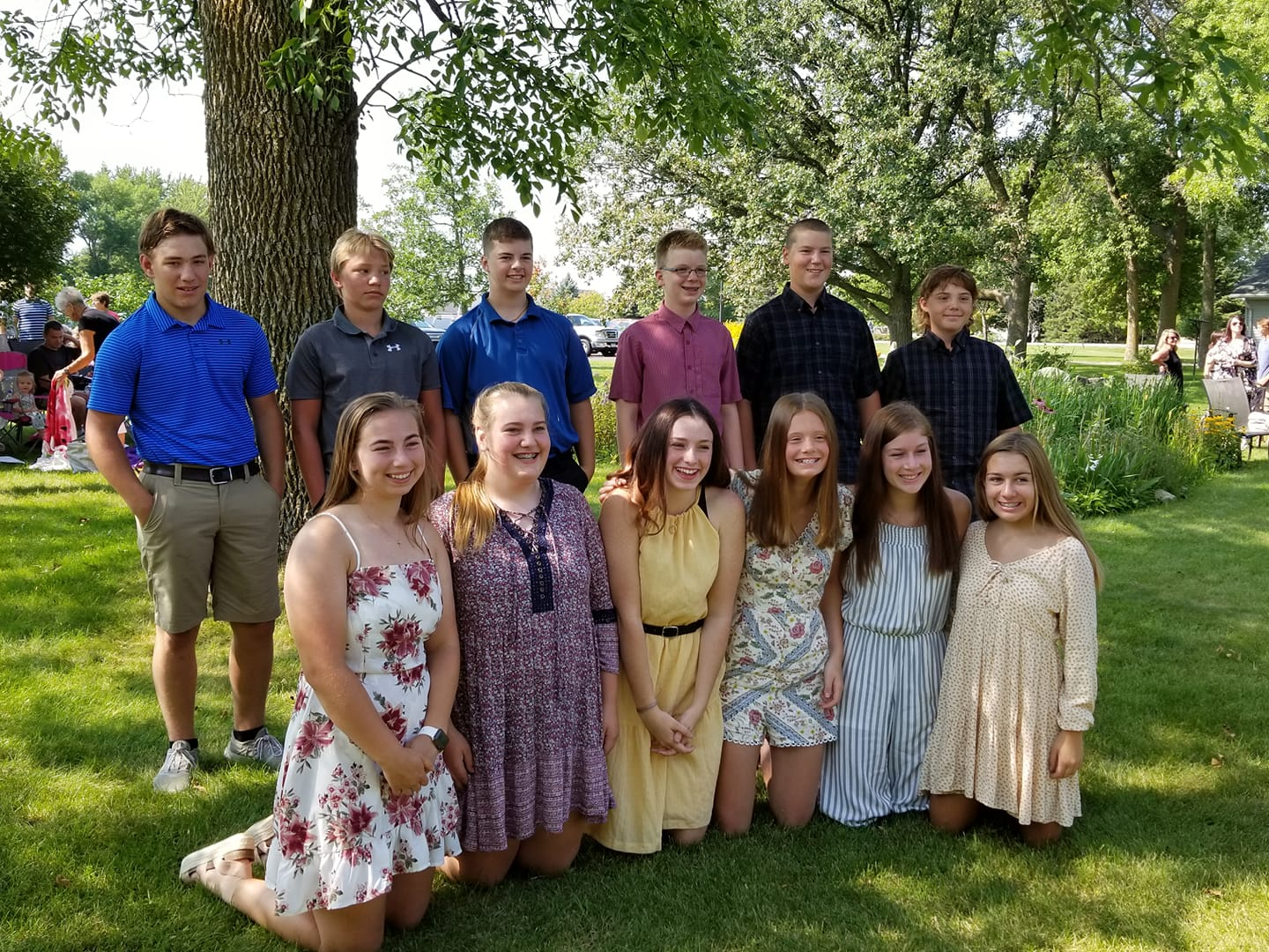 2020 Confirmation Students